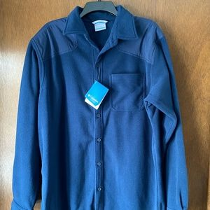 Columbia Button Down Fleece Shirt Jacket NWT